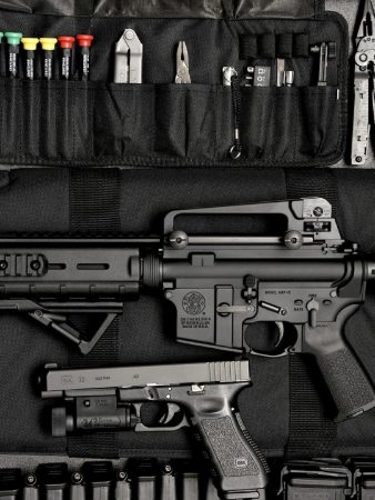resilient arms ar and glock